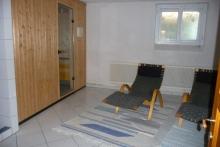 Kellergeschoss-Sauna-Ruheraum
